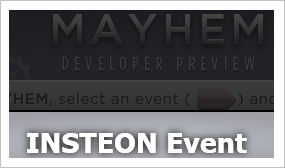Insteon Creates Mayhem Plugin